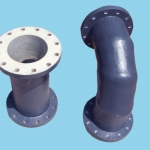 grp-bend-pipe-with-flange